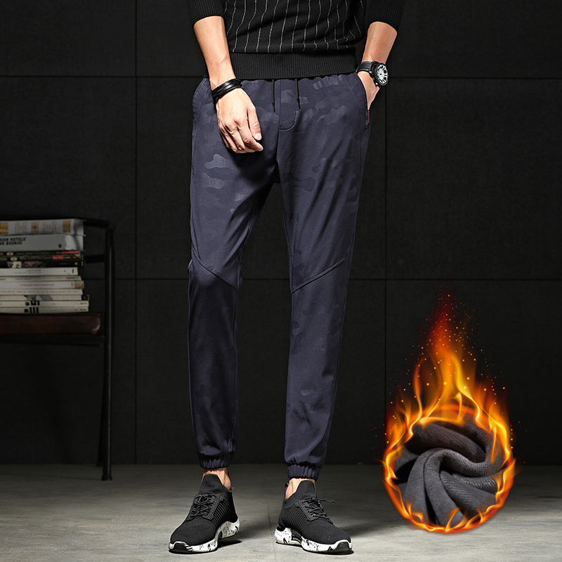 New Sweat Pants Men Joggers Pants Elastic Waist Loose Streetwear Sweat Pants for Men Casual Fashion Slim Hip Hop Trousers Homme