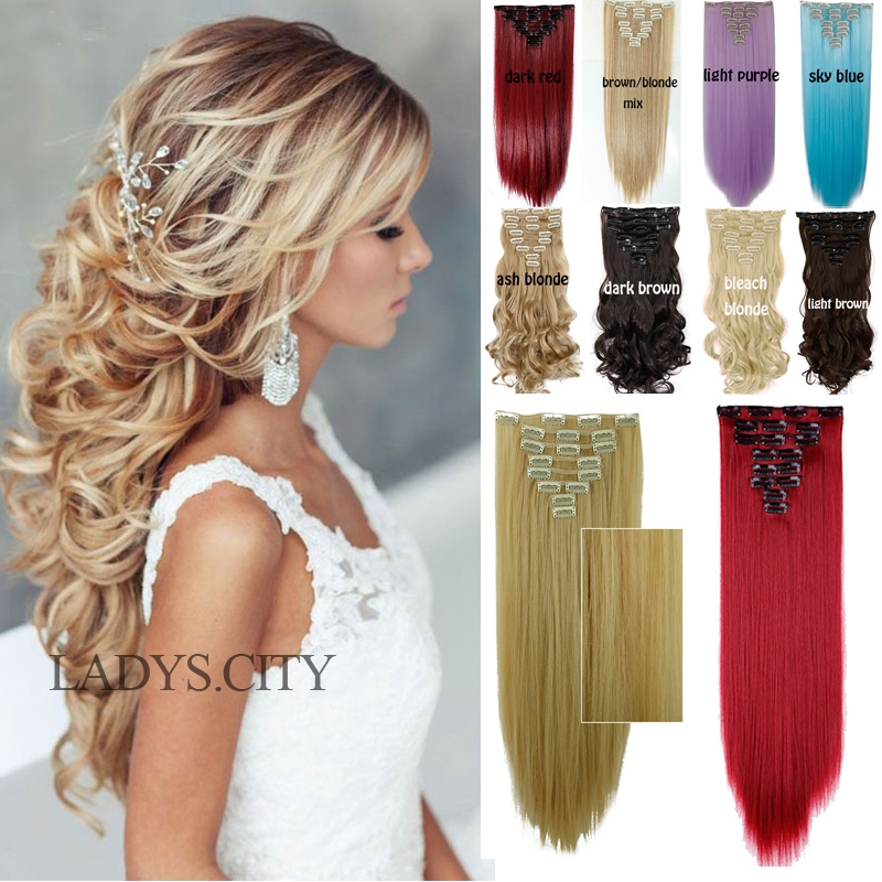 Factory price 24inches 66cm real thick clip in hair extensions factory price 24inches 66cm real thick clip in hair extensions long curly new full head hair extentions black brown blonde red on aliexpress alibaba pmusecretfo Images