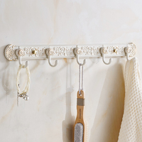 European white coat hat row hook door wardrobe closet holder bathroom towel hook hardware pendant wx7310944