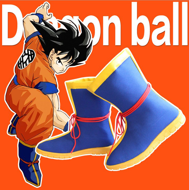 Anime Dragon Ball Kakarotto Cosplay Shoes Son Goku Kungfu Shoes