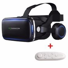 Anskp VR Headset Version Virtual Reality Glasses 3D Glasses Headset Helmets Smart phone VR Box+GamePad