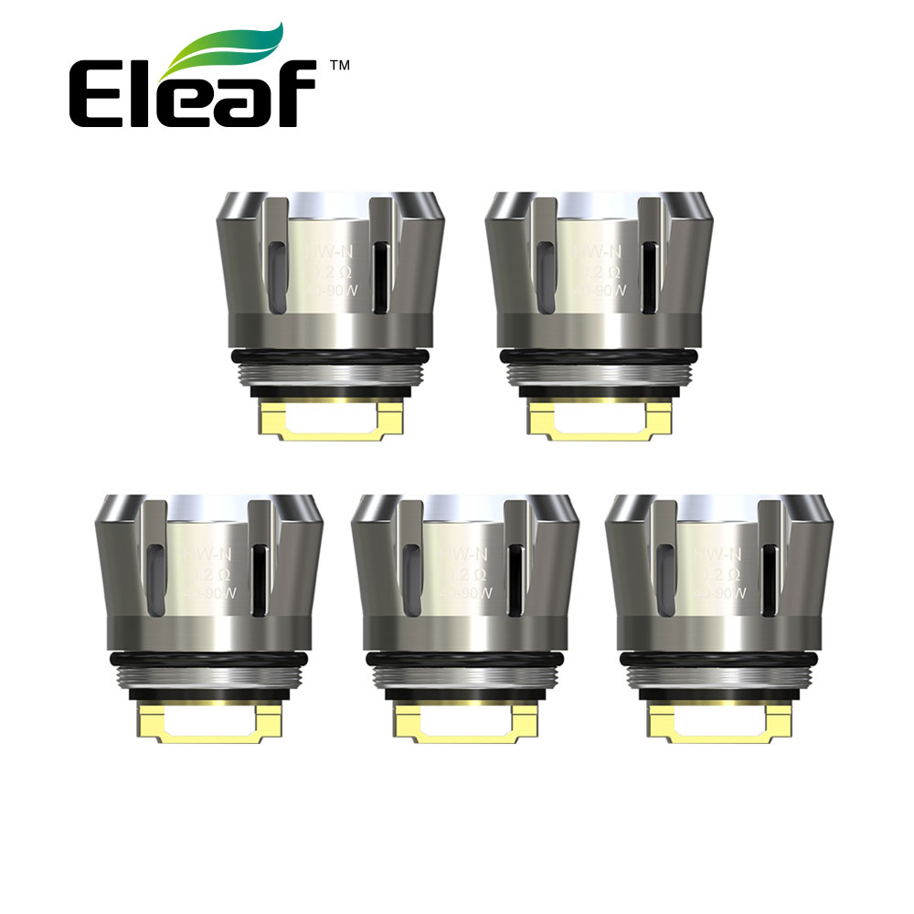 5pcs Original Eleaf HW Series Coil HW1/2/3/4 HW-M HW-N For Ello Series Tank Vape Coil Head IJust 3 Kit Coil Eleaf Vape HW Coil