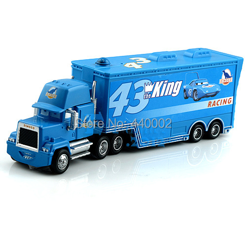 plastic Mack cars plastic truck the king racing 43# toy car