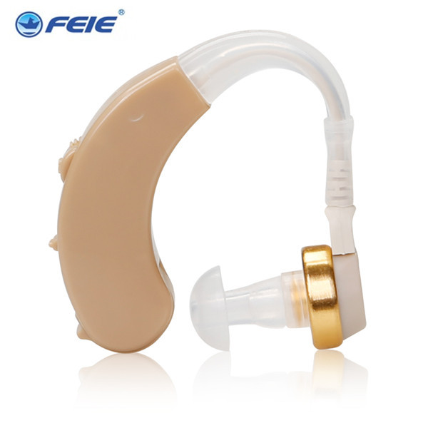 feie Factory Low Price 2PCS S-138 Affordable Ear Hook BTE Hearing Aids with excellent device Drop Shipping