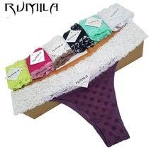XXXXL – string SEXY en coton et dentelle pour femmes, sous-vêtements, culotte, lingerie pour dames, 1 pièces, ZX71
