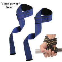 Vigor Power Gear Lifting Straps Palm Anti-Slipped lifting wrist support usded in dumbbells, kettlebells and power lifitng