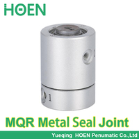High Speed Multi Way Rotary Connector Fitting Metal Seal Type Low Torque Rotary Joint MQR1 M5 MQR2 M5 MQR4 M5 MQR8 M5 MQR12 M5