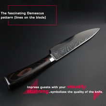 Damascus Kitchen Knife – Haoye 6″ Chef Knife