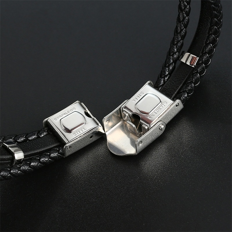 Musical note leather bracelets 4