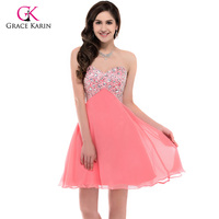 Free Shipping GK Sequins Formal Prom Wedding Bridesmaids Party Cocktail Dress 8 Size CL3140