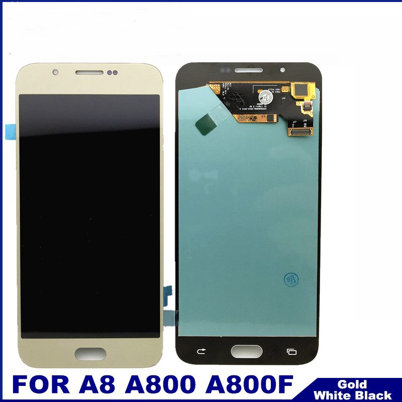 Phone LCD Display Touch Digitizer Screen Assembly 100% Tested Replacement For Samsung Galaxy A8 A800 A8000 A800F