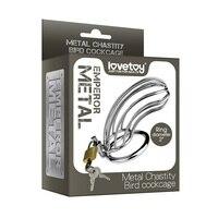 Lovetoy 1 para Erwachsene Spiel Metall Keuschheit Vogel Cock Cage Fesseln Sex Bondage Slave Sexspielzeug für Männer Sex Produkte