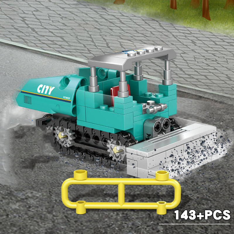 4-in1-City-Engineering-Construction-Excavator-Vehicles-Truck-Building-Blocks-Compatible-Technic-City-Bricks-Toys-For (4)