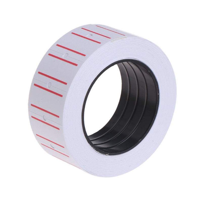 1 Roll(500 Labels) Self Adhesive Price Tags White Self Adhesive Price Label Tag Sticker Office Supplies kicute 70sheets pack self adhesive blank label paper price sticker stationery mark sticker for office stores libraries supplies