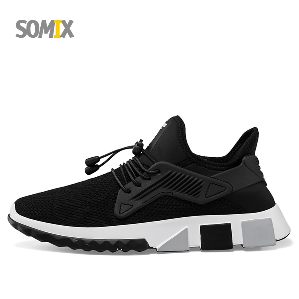 Somix Lightweight Running Shoes for Men Summer Style Breathable Barefoot Men Sneakers Fun Run Outdoor Sport Shoes Walking Shoes