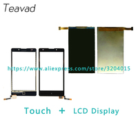 Vervanging deel 5.0 ''Voor Nokia XL RM-1030 RM-1042 Lcd-scherm en Touch Screen Digitizer Sensor + Tracking Code