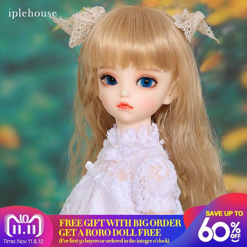 Iplehouse IP Kid Irene bjd sd doll 1/4 fullset body model girls boys minifee msd ip fairyland dollmore luts dolltown korea