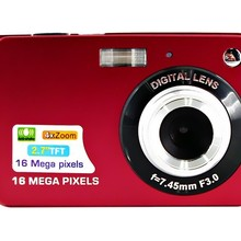 KaRue High Quality Portable 18MP 720P Mini Digital Camera 8x Digital Zoom