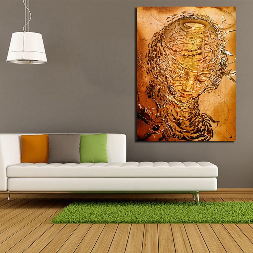 Innenarchitektur Dali Werke Galerie Von Jqhyart Surrealist Salvador Leinwand Kunst Moderne Wand