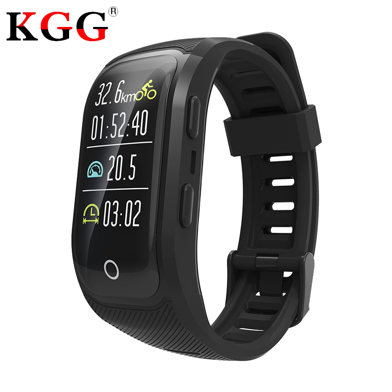S908 Plus GPS Heart Rate Monitor Sports Wristband Color Screen Smart Band IP68 Waterproof Swim Fitness