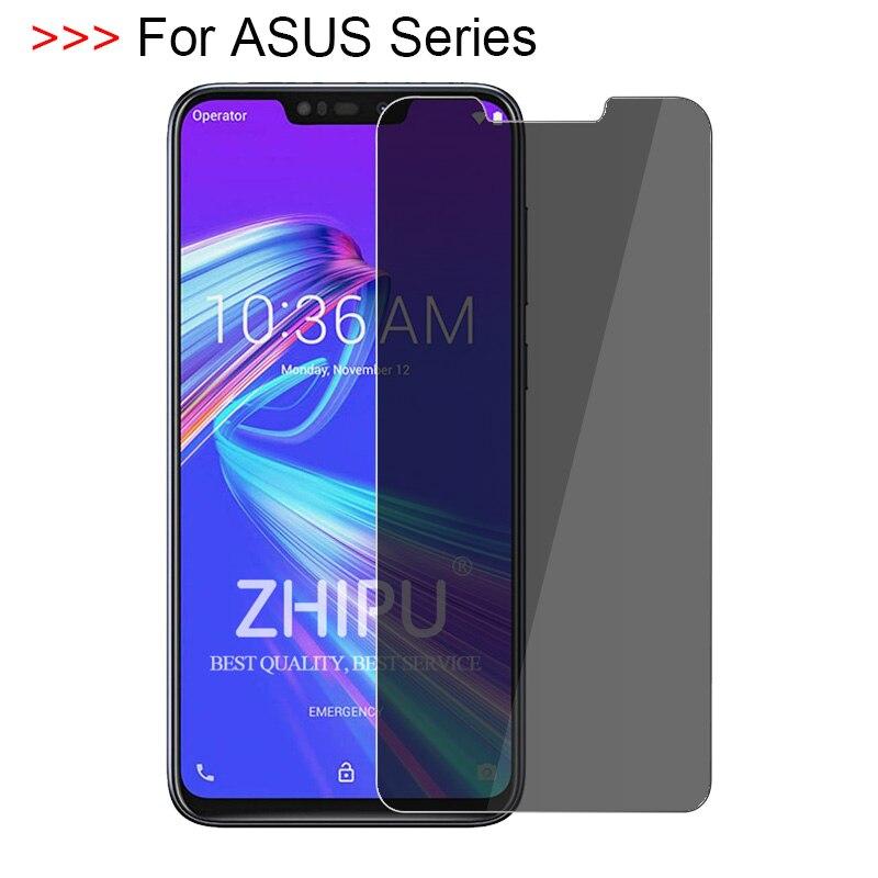 ASUS Zenfone Max M2 ZB633KL 9H Anti-Peeping Tempered Glass for Asus ZenFone Max Pro M2 ZB631KL 2.5D Privacy Screen Protector