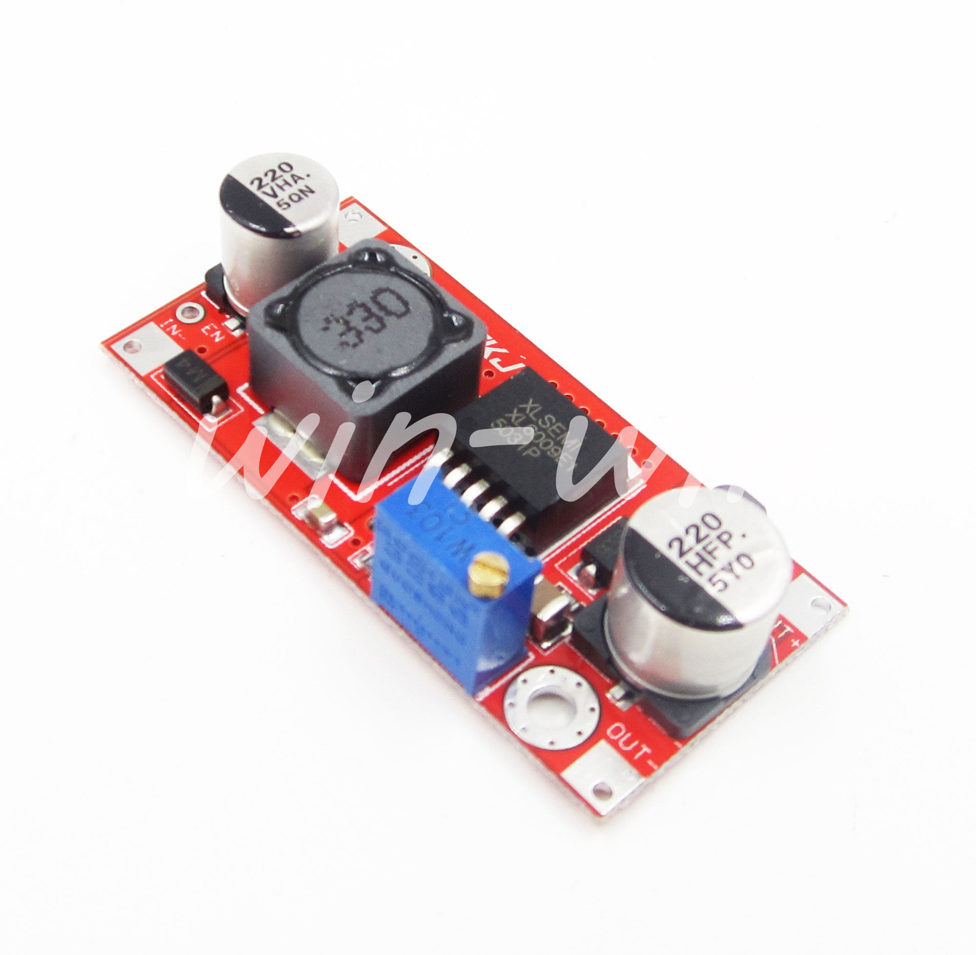Xl6009 Boost Converter Step Up Adjustable 15w 5 32v To 50v Dc Circuit Power Module Replace Lm2577 Supply