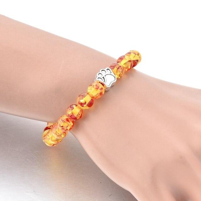 Фото toucheart ручной работы собачья лапа браслет с принтом & браслет цена