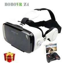 Hot Glasses Cardboard BOBOVR Z4 Virtual Reality Glasses  Immersive Virtual Reality Headset Stereo 3D Glasses VR Cardboard Helmet