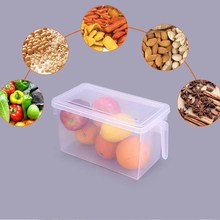 Storage Food Box Refrigerator Container Boxes Kitchen Plastic 4.7L with Lid Crisper Egg Case недорого