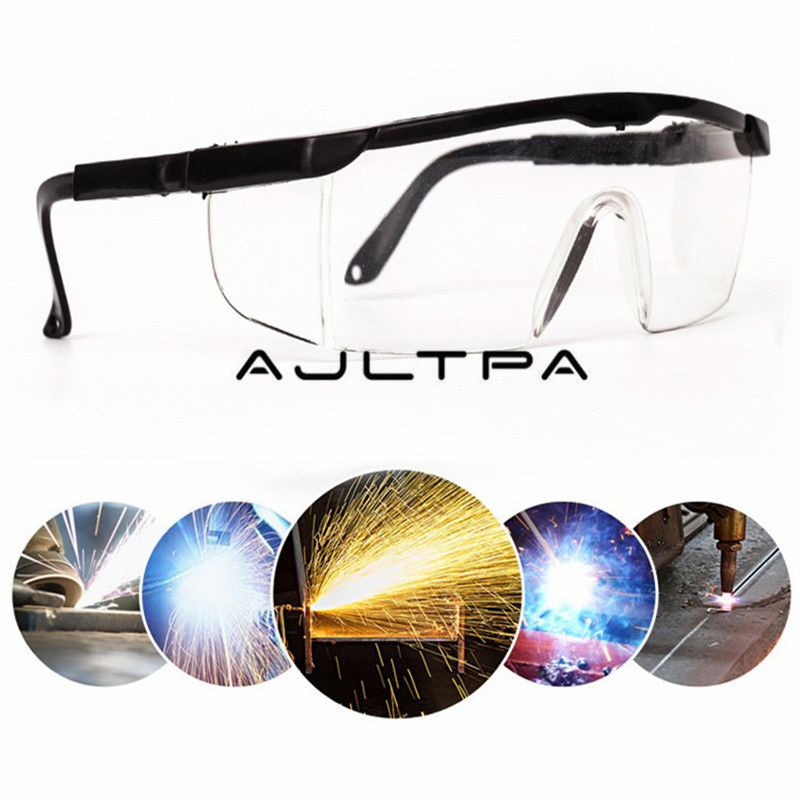 480Pcs Adjustable Safety Glasses Welding Cutting Welders Safety Protective Goggles Lenses Anti Dust Protective Eyewear|  - title=