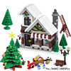 ZXZ Lepin 36002 Buildings Creative Winter Series Christmas 10249 Winter Toy Shop Assembled Pinch Juvenile