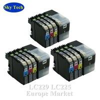 Qualität Kompatibel Tinte Patrone Für LC229XL LC225XL  Für Brother MFC-J5320DW/J5620DW/J5625DW/J5720DW etc. [Europa]