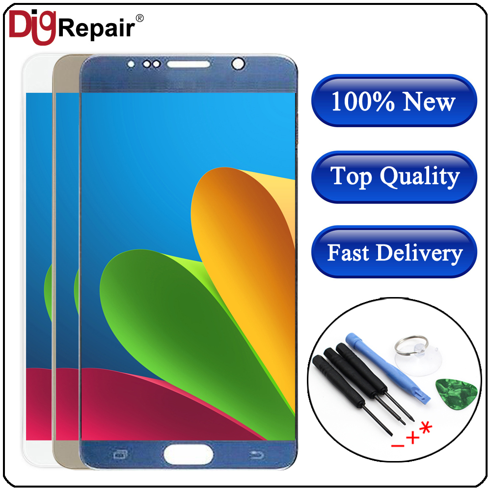For SAMSUNG Note 5 LCD N920 N920F N920P N920A N920C LCD Display Touch Screen Digitizer Replacement For Samsung Galaxy Note 5 LCD