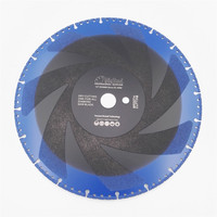 12 Vacuum Brazed Diamond Disc For Multi Purpose 300mm Rescue Demolition Saw Blade Very Fast Cutting