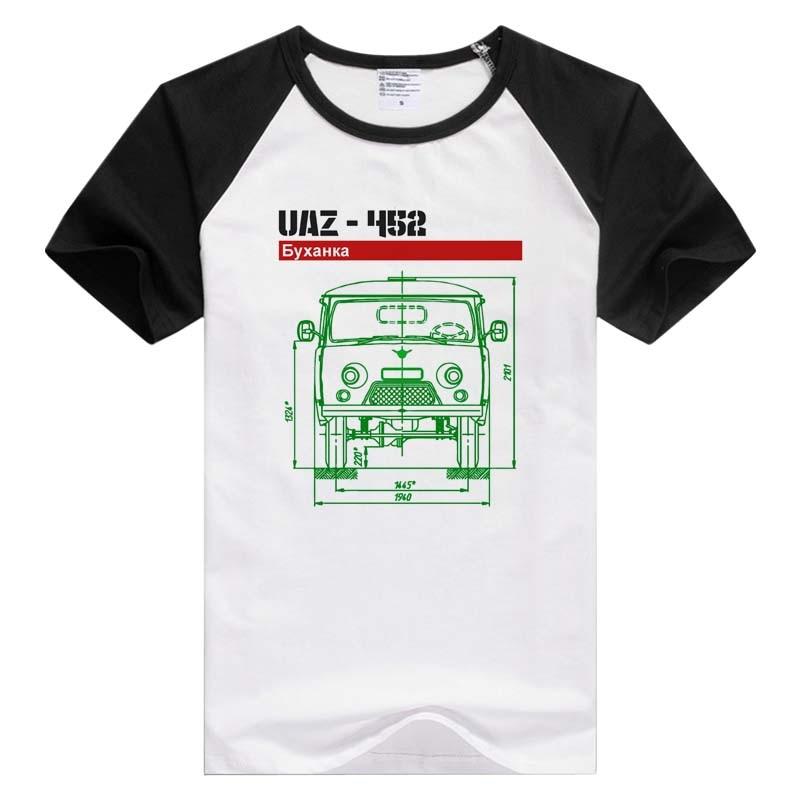 UAZ 425 Van Short Sleeve Casual Men Women T-shirt Comfortable Tshirt Cool Print Tops Fashion Tees Novelty GA1477