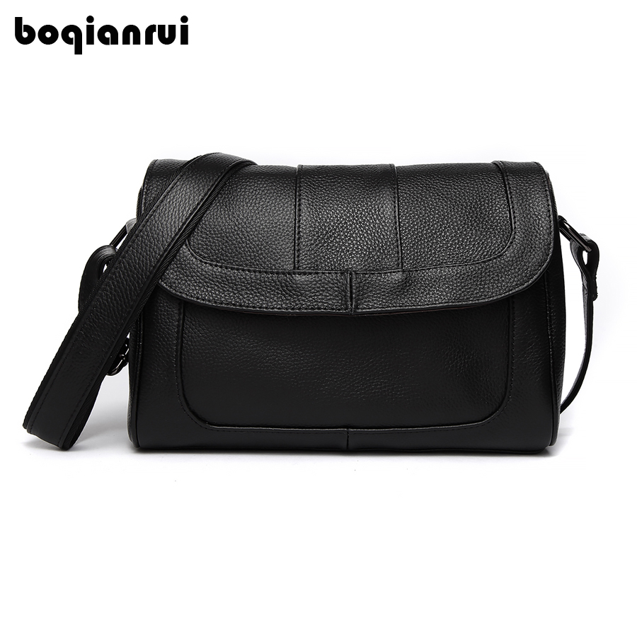 Genuine Leather Women Handbag Female Flap Bags Handbags Ladies Portable Shoulder Bag Office Ladies Hobos Bag Totes messenger Bag цена
