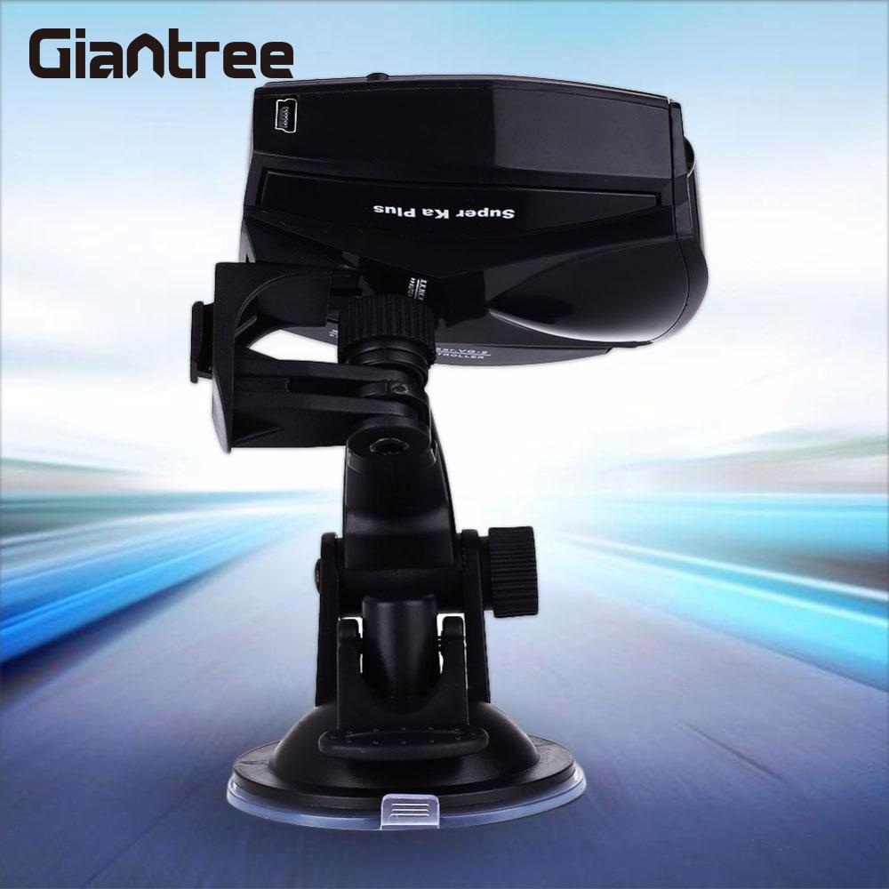 где купить giantree Car Single-Flow Anti-Police Speed Safety Radar Detector Safe Warning Alert Alarm дешево
