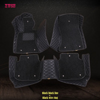 custom car floor mats for toyota rav4 corolla camry verso aygo wish vitz land cruiser prius harrier car mats car accessories