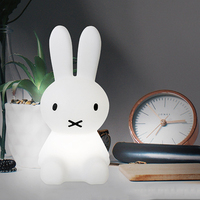 Rabbit ABS Night Light Led Lamp Dimmable for Baby Children Kids Gift Animal Cartoon Decorative Bedside Bedroom Living Room