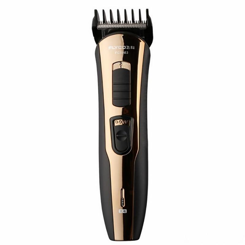 Flyco Gold 100-220 V Tondeuse Cheveux Tondeuse pour enfants chien chat barbe Tondeuse Cheveux Professionnelle électrique rasage Machine FC5803 - 3