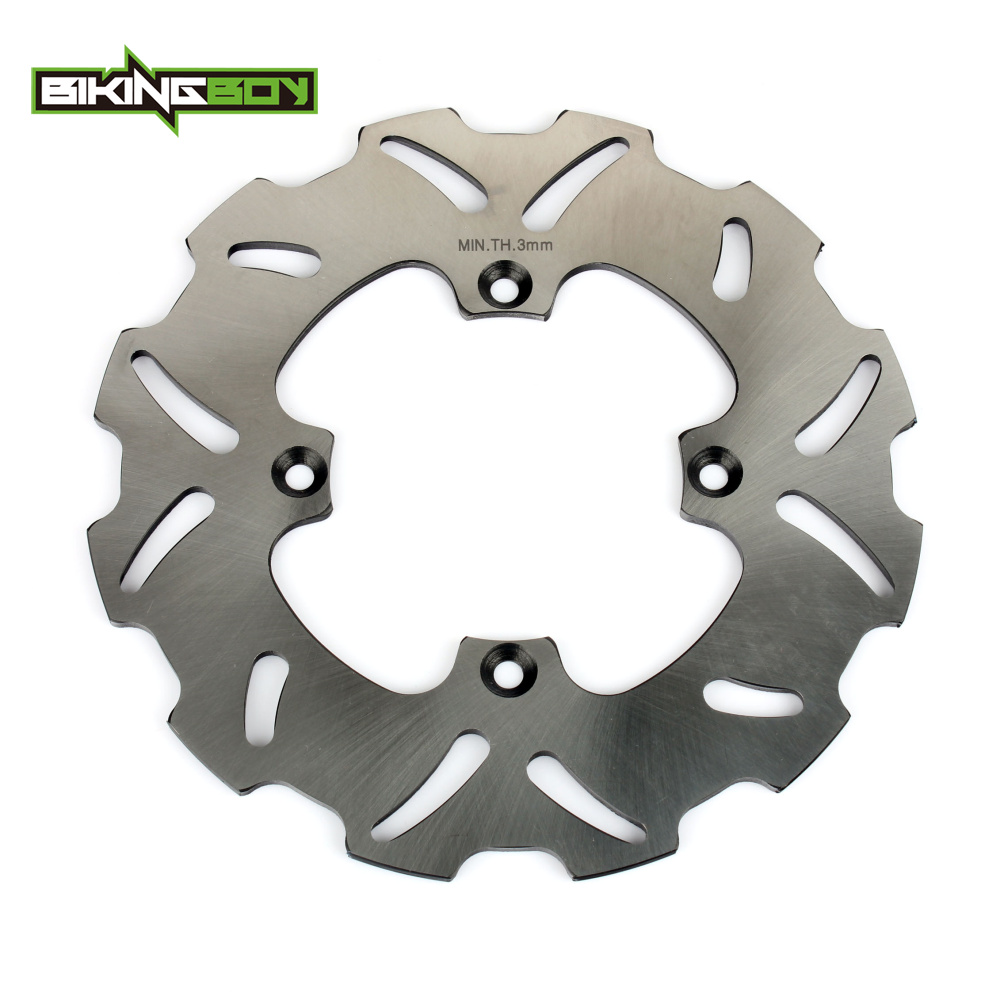 BIKINGBOY Motorcycle Front Brake Disk Disc for Honda CR 80 85 R RB CRE CRM 80 CRF150R CRF 150 R HM ITALY CRE CR85 CR125 R 86-16 mitsubishi 100% mds r v1 80 mds r v1 80