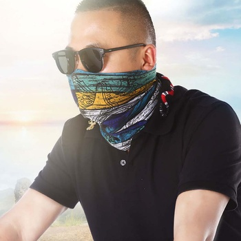 Outdoor Hiking Climbing Cycling Skiing Fishing Windproof UV Protection Camouflage Bandana Face Mask Neck Scarves Wraps Headwear