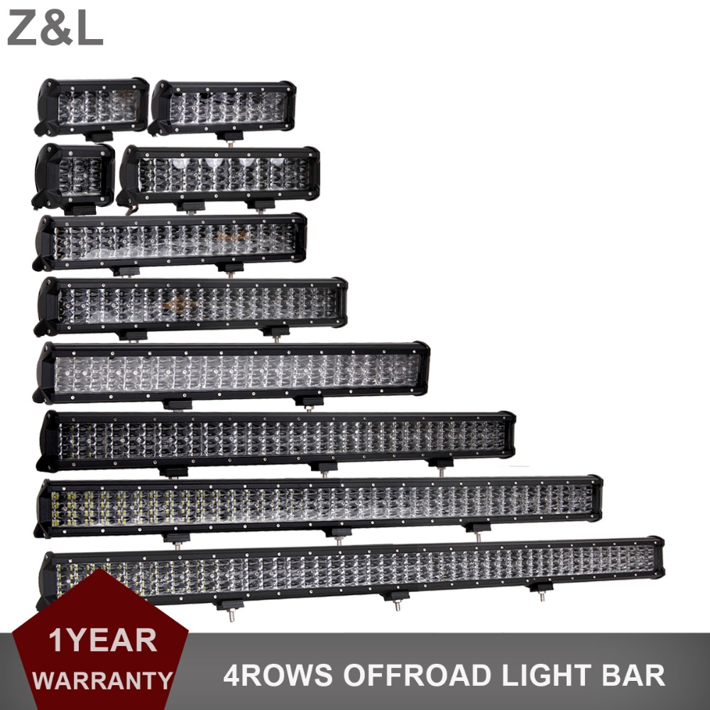 Offroad LED Work Light Bar 12V 24V Combo 4 44 Inch Car Truck SUV 4WD 4X4 ATV Trailer Pickup Additional Auxiliary Driving Lamp|Light Bar/Work Light| |  - title=