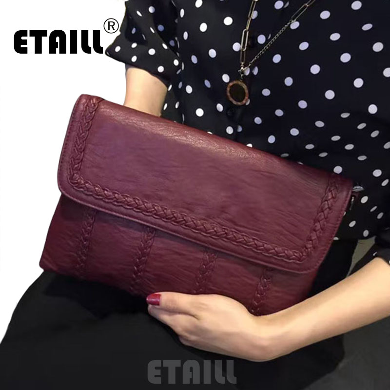 ФОТО Knitting Evening Day Clutches Womens Hand Bags Designers Famous Brand 2017 Top Quality Ladies Hand Bags with Free Shipping