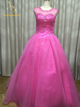 Bealegantom 2019 New Ball Gown Quinceanera Dresses with Crystal Beading Sequined Organza Sweet 16 Party Gowns Q65
