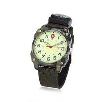 2016 Design de Moda Relógio de Forma Dos Homens Camuflagem Militar Bússola Apresenta Mostrador Luminoso do relógio de Pulso Dos Homens Esportes Ao Ar Livre Relógios FD0118