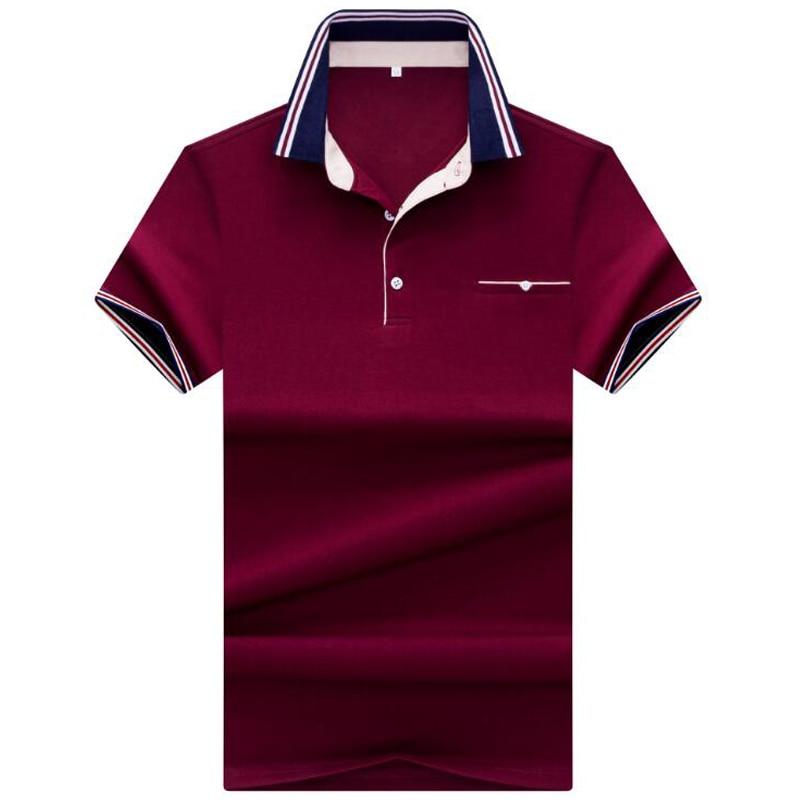 2019 nuevos hombres de alta calidad polos hombres de la marca polo camisa de verano casual hombres polo sólido camisa homme polo hombres ropa de marca