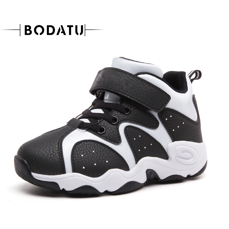 BODATU Top Selling Breathable Children Shoes Boys Shoes Kid Leather Sneakers Sport Shoes Casual Sneakers DS1631/AS3213