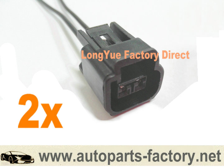 us $7 83 longyue 2pcs cam crank shaft position cps connector wiring harness accessories for ford f150 expedition wpt579 motorcraft 8\