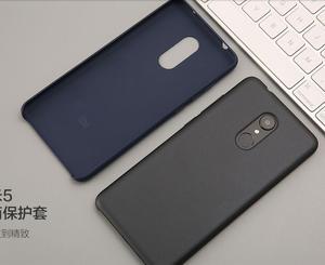 Image 2 - Ufficiale Xiaomi Redmi 5 Più Il Caso di Originale Redmi5 Della Copertura Ultra Sottile Copertura di Moda di Lusso Antiurto Dura del PC + Ansimante Redmi 5 più